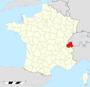Par Original map: Sting, modifications by Wikialine — File:France location map-Departements.svg, CC BY-SA 3.0, https://commons.wikimedia.org/w/index.php?curid=7866010